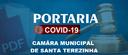 PORTARIA N. 008/2020 DE 24 DE MARÇO DE 2020. CÂMARA MUNICIPAL DE VEREADORES